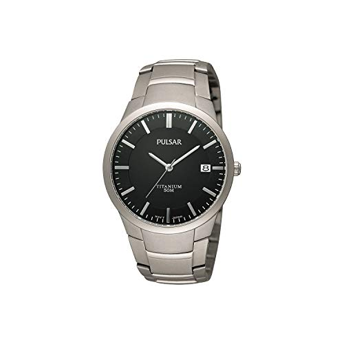 Pulsar horloges herenhorloge XL modern analoog titanium PS9013X1