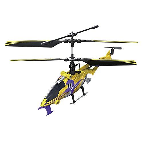 Hover Champs - Helicóptero con radiocontrol Zoe, 3 Canales 22 cm (Giochi Preziosi 85851)