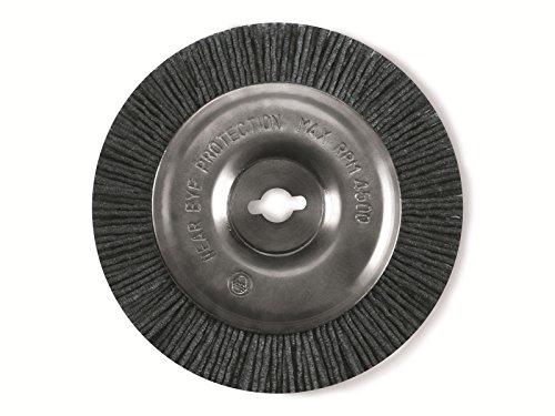 Original Einhell Ersatzbürste Nylon GC-EG 1410 (passend für Elektrischer Fugenreiniger BG-EG 1410, Bürste aus Nylon mit 100 mm Durchmesser)