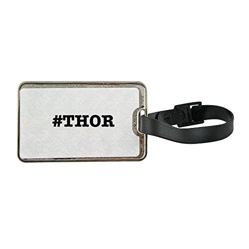nicknames THOR nickname Hashtag metal luggage tag