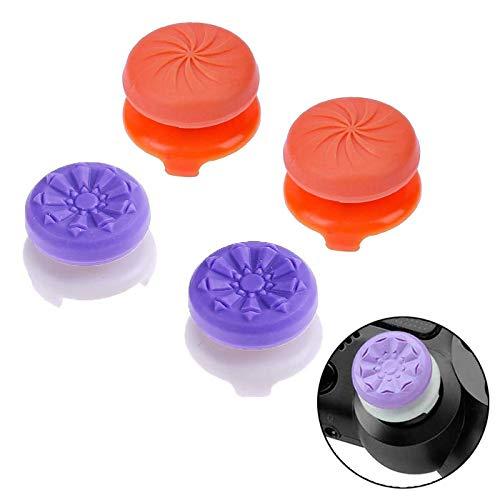 ANDERK Joystick PS4 Thumbstick Caps Accesorios de controlador de juego, Accesorios Esenciales para el Juego mando PS4 y...