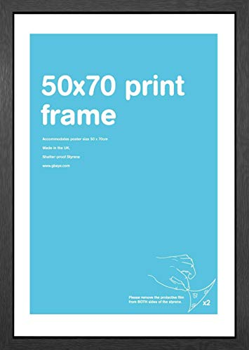 GB eye LTD, Black Frame-50 x 70c...