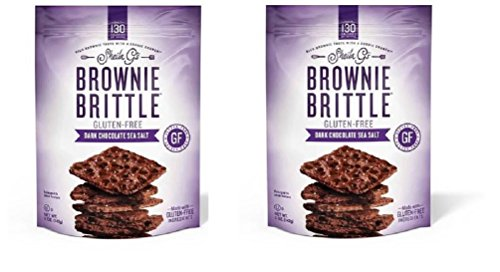 Gluten Free Brownie Brittle, Sheila G's Salted Dark Chocolate (2-pack)