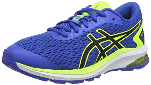 Asics Unisex-Child GT-1000 9 GS Running Shoe, Directoire Blue/Black, 39 M EU