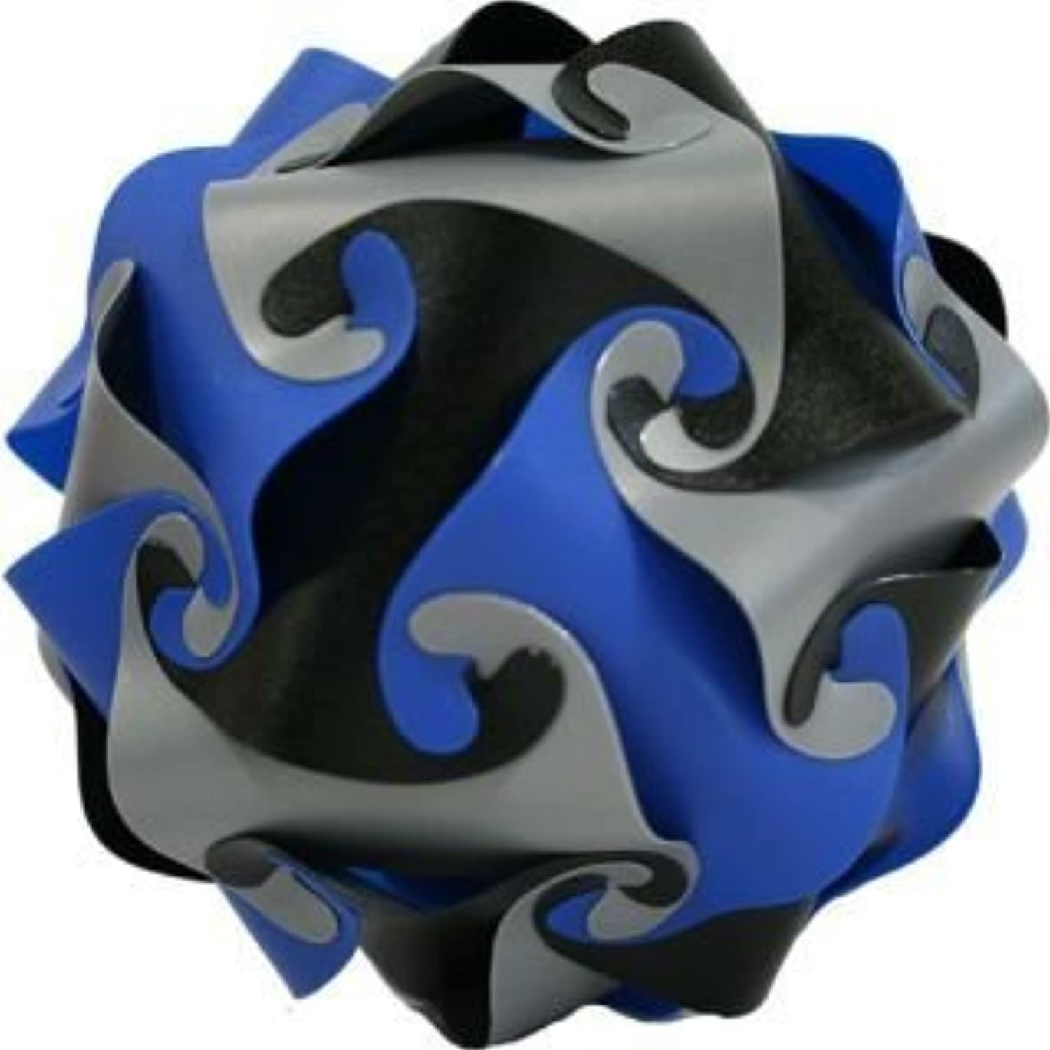 Cyclone Puzzle - blu, nero, argento by The Lagoon Group