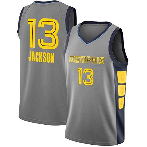 WSWZ Camisetas De Memphis Grizzlies NBA 13# Jaren Jackson Jr - Camiseta De Baloncesto para Hombre NBA Camiseta Cómoda Unisex con Chaleco Deportivo De Baloncesto,XL(180~185CM/85~95KG)