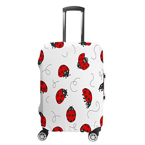 Cubierta de equipaje de viaje Anti-Scratch Maleta cubierta de equipaje Protector Caso Mariquinas líneas de dibujos animados Fit lavable Accesorios a prueba de polvo