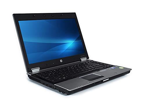 Ordenador portátil HP EliteBook 8440p de 14 pulgadas, Intel Core i5 540m, 4 GB DDR3, 120 GB SSD, disco duro de estado sólido, Windows 10 preinstalado y activado, portátil con cámara web (Renewed)