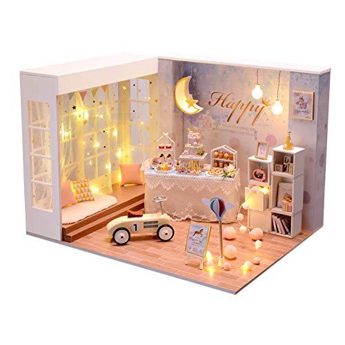 chora Artesanías De Casa Construcción de Modelos Kit de decoración del hogar Autoensamblaje Construcción Juego de Hadas Regalos de cumpleaños de Navidad para niños, niñas, Mujeres, Amigos
