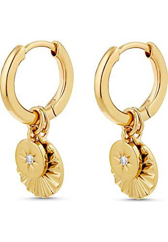 Guido Maria Kretschmer Damen-Creolen Guido Maria Kretschmer 925er Silber One Size Gold 32012788