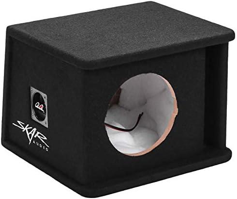 Skar Audio SK1X8V Single 8 Universal Fit Ported Subwoofer Enclosure product image