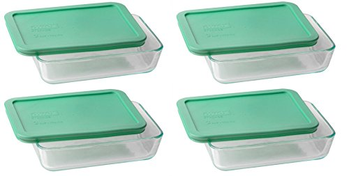 Pyrex 3-cup Rectangle Glass Food Storage Set Container (Containers) by Pyrex