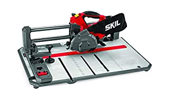 SKIL 3601-02 Flooring Saw with 36T Contractor Blade Red and black