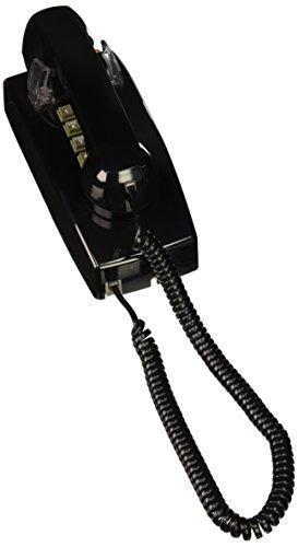 Cortelco Telefone fixo 255400-VBA-27MD, preto