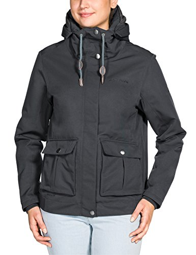 VAUDE Damen Women's Manukau Jacket Jacke, Iron, 38