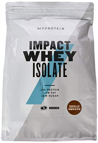 Myprotein Impact Whey Isolate Protein Chocolate Smooth 2500 g