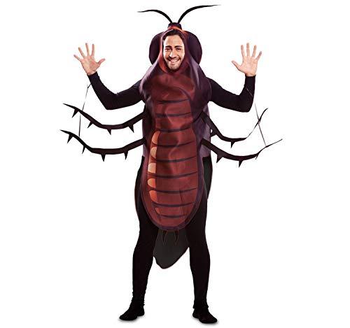 EUROCARNAVALES Disfraz de Cucaracha para Adultos