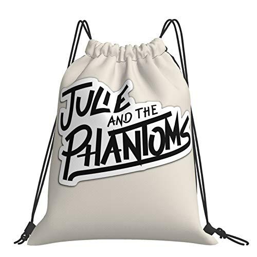 Julie-and-The-Phantoms - Bolsa de gimnasio con cordón para niños (polietileno)