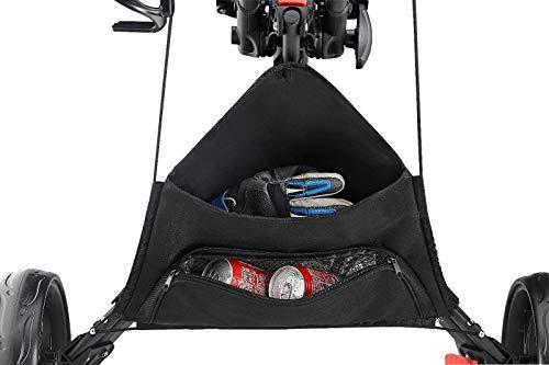 CaddyTek Quad Tour Swivel 360 4-Rad Golf Push Trolley - 5