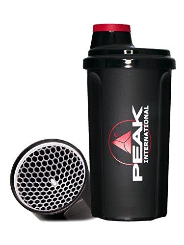 PEAK Shaker-Peak International Shaker Noir 700 ml
