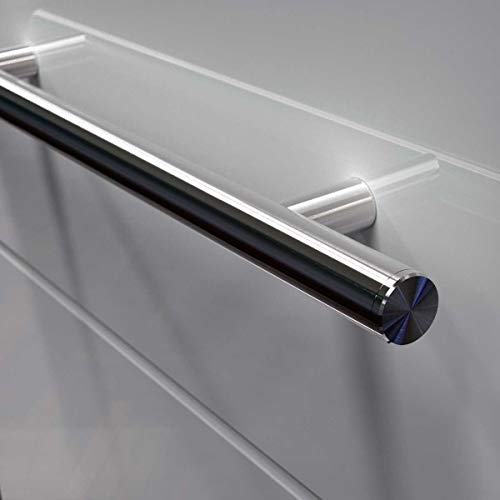 Oppali Tirador de acero inoxidable para puerta de entrada Ø30 mm-1,2 pulgadas T-Bar (80 cm - 32 pulgadas de longitud)