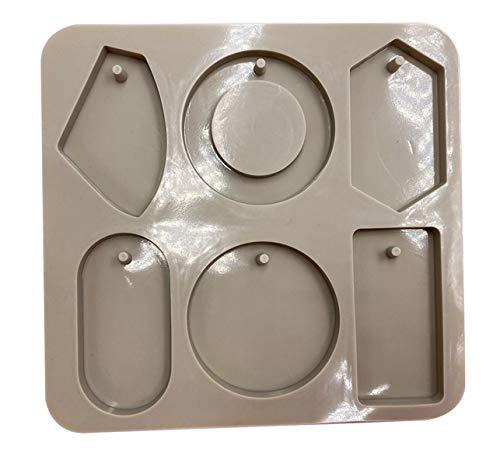 Molde de jabón de 6 cavidades