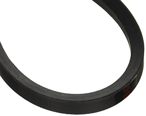 "D&D PowerDrive 3V380 V Belt, Rubber, 3/8"" x 38"" OC"
