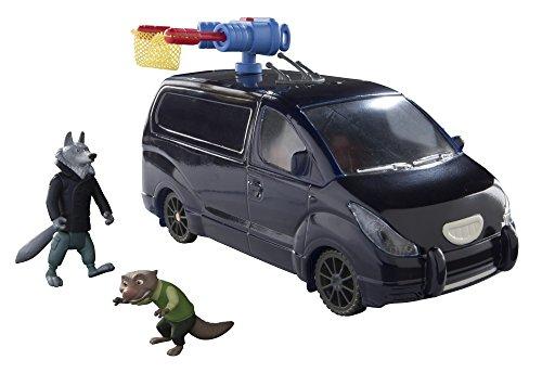 TOMY L70032EU - Zoomania Mr Ottertons Van mit Spielfigur, Multi