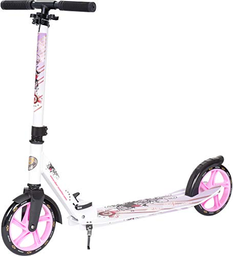 Star-Scooter Patinete Patineta Scooter Plegable XXL
