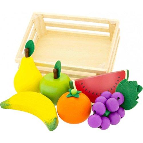 Ulysse - 22580 - Jeu D'imitation - Cuisine - Cagette De Fruits