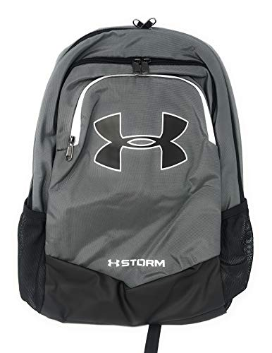 Under Armour Boys Storm Scrimmage Backpack (One Size, Grey/Black/White)