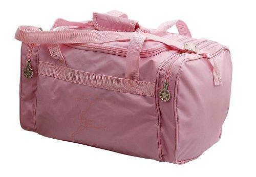 Capezio - Borsone da danza per bambina rosa o nero B52C Pink 38cm W x 20cm H x 20cm D