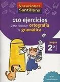 Vacaciones Santillana, lengua, ortografía y gramática, 2 Educación Primaria. Cuaderno -...