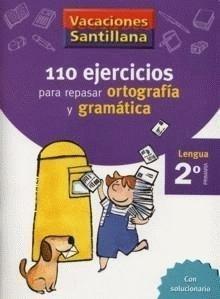 Vacaciones Santillana, lengua, ortografía y gramática, 2 Educación Primaria. Cuaderno - 9788429407570