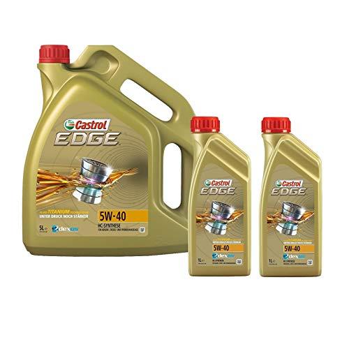 Motorenöl 5W-40 Edge Titanium FST [7 L] von Castrol (SET1535F17L) Öl Schmierung Motorenöl