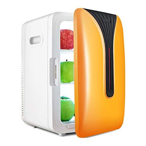 Onbekend dubbele koelkast 20 l auto kleine huishoudens mini slaapkamer cosmetica huis dual use koud en warm vier kleuren temperatuur 27,5 * 33,5 * 41 cm XMJ