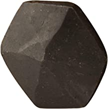 Casa Hardware Hand-Forged Iron Hexagon Decorative Nail Head Clavos - Set of 6 Small Size in Natural Black Finish