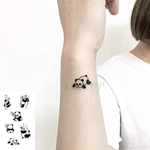 5piezas Impermeable Tatuaje Temporal Pegatina Ola Amor corazón ...