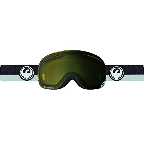 Dragon Alliance X1S Ski Goggles, Flux Grey/Transitions Yellow