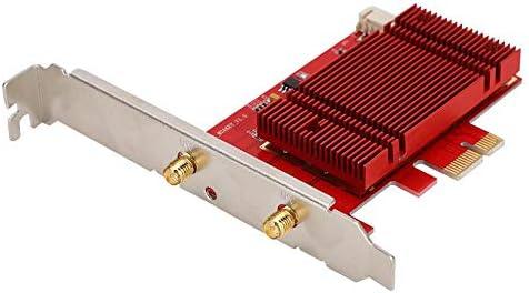 Desktop WIFIkaart Gigabit draadloos netwerk 80211ax Bluetooth 50 Gigabit voor Win10 Bluetooth50 WIFIkaart voor desktop