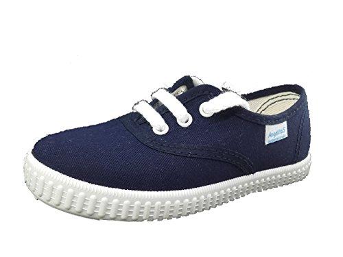 Zapatillas de Lona para Niños y Niñas, Angelitos mod.121, Calzado infantil Made in Spain, Garantia...