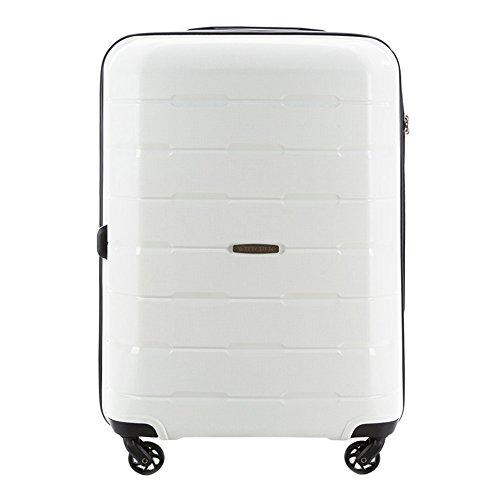 WITTCHEN Koffer – Mittelgroßer   hartschalen, Material: Polypropylen   hochwertiger und Stabiler   Weiß   61 L   68x46x26 cm