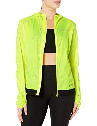 Craft Damen Laufjacke Lumen, winddicht, leicht, reflektierend, Damen, Lumen Windproof Lightweight Reflective Running Jacket, P-Formen/Flumino, Small