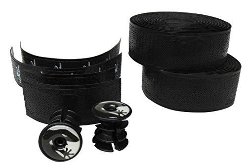 Lizard Skins DSP Bartape 2.5 mm Unisex Adult Handlebar Tape Jet Black, One Size