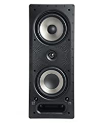 "CRYSTAL CLEAR SOUND WITH A DEEPER BASS for a true cinematic experience Powered by Dynamic Balance Distance Toggle & Polk's patented Power Port technology the 265-RT In-wall speaker comes with (2) 6 5"" Mid/Woofer & a 1"" swivel-mount Silk Dome Tweeter ..."