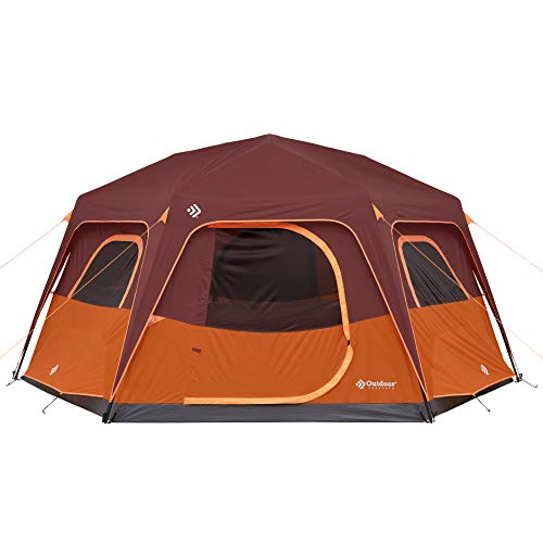 8 Person Lighted Tent