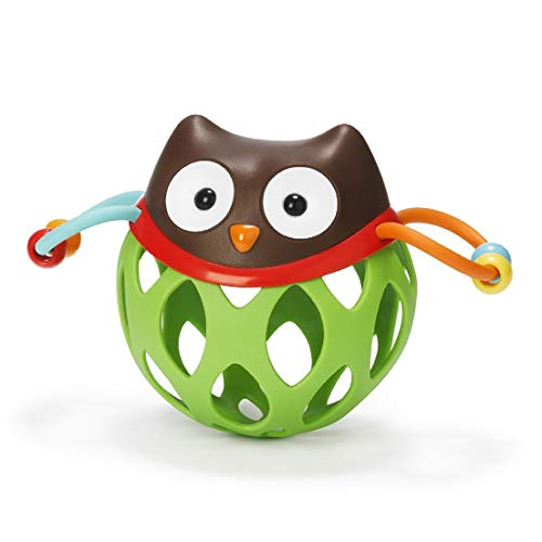 Best Price Skip Hop Explore and More Roll Around Baby Rattle Toy, Owl