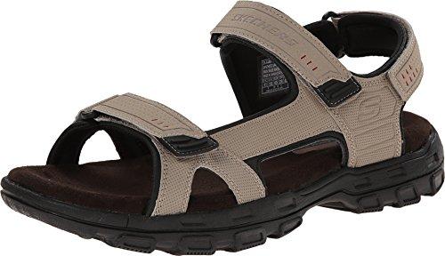 Skechers Men's Louden Sandal, Desert, 10 M US