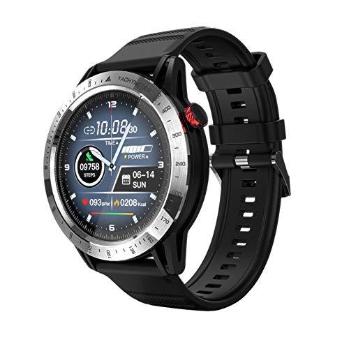 Lwwhama 2020 Nuevo Smart Watch IP68 Impermeable, Podómetro, Monitoreo de ritmo cardíaco Recordatorio inteligente, Control remoto Selfie, Posicionamiento móvil, Pantalla de información, Deportes al air