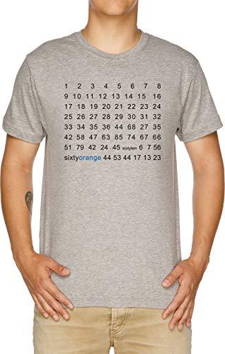 Vendax Acuario Camiseta Hombre Gris